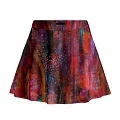 Fairy Tree Bark Mini Flare Skirt