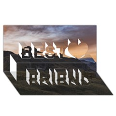 Sunset Scane at Cajas National Park in Cuenca Ecuador Best Friends 3D Greeting Card (8x4)