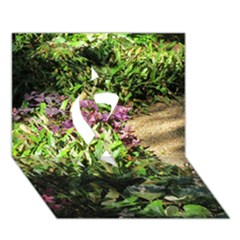 Shadowed ground cover Ribbon 3D Greeting Card (7x5)