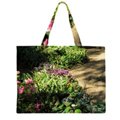 Shadowed ground cover Large Tote Bag