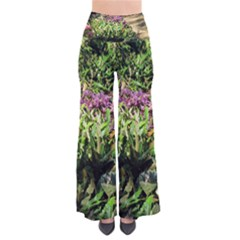 Shadowed ground cover Women s Chic Palazzo Pants