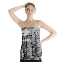 Ripples Strapless Top