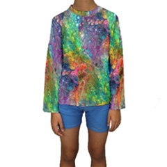 Reality is Melting Kid s Long Sleeve Swimwear