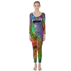 Reality is Melting Long Sleeve Catsuit