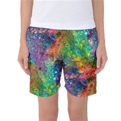 Reality Is Melting Women s Basketball Shorts