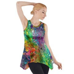 Reality Is Melting Side Drop Tank Tunic