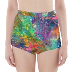 Reality is Melting High-Waisted Bikini Bottoms