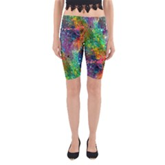 Reality is Melting Yoga Cropped Leggings