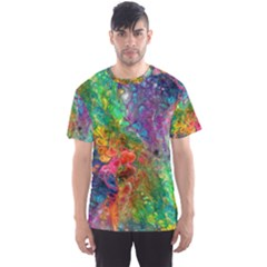 Reality is Melting Men s Sport Mesh Tee