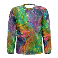 Reality Is Melting Men s Long Sleeve Tee