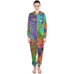Reality Is Melting Hooded Jumpsuit (ladies)