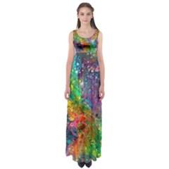 Reality is Melting Empire Waist Maxi Dress