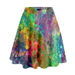 Reality is Melting High Waist Skirt