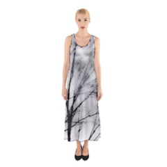 Misty Haze Sleeveless Maxi Dress