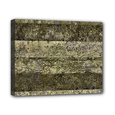 Grunge Stripes Print Canvas 10  x 8