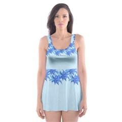 Elegant2 Skater Dress Swimsuit