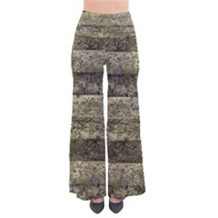 Grunge Stripes Print Pants