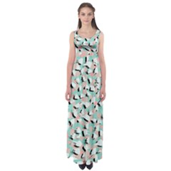 Zora Empire Waist Maxi Dress