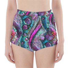 Ocean Jewels High-Waisted Bikini Bottoms
