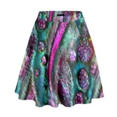 Ocean Jewels High Waist Skirt