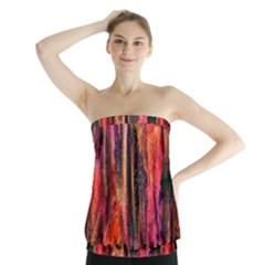 Tree Dreams Strapless Top