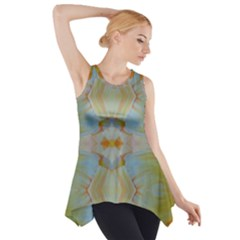 California Lit0313012011 Side Drop Tank Tunic