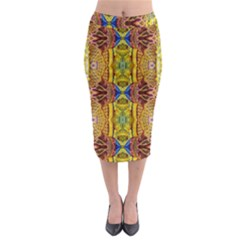 Maine Lit130813002008 Midi Pencil Skirt