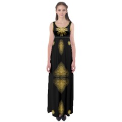 Empire Waist Maxi Dress by Annabellerockz