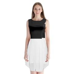 Black Galaxy Chiffon Dress