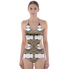 Seattle Lit0511032013 Cut-Out One Piece Swimsuit