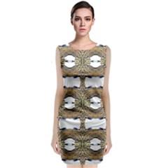 Seattle Lit0511032013 Classic Sleeveless Midi Dress