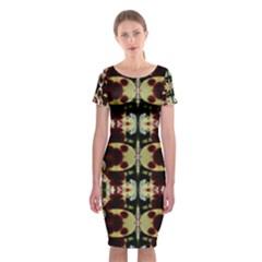 Missouri Lit0111024005 Classic Short Sleeve Midi Dress