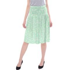 Mint Confetti Midi Beach Skirt