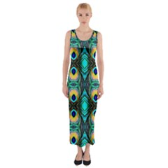 Houston Lit1111036013 Fitted Maxi Dress
