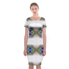 Georgia Lit0111010035 Classic Short Sleeve Midi Dress
