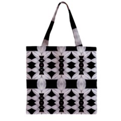 0811001013 Melbourne Zipper Grocery Tote Bag
