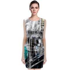 Urban Funk Classic Sleeveless Midi Dress