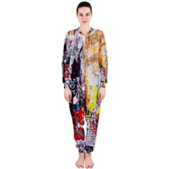 Abstract Graffiti OnePiece Jumpsuit (Ladies)
