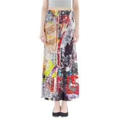 Abstract Graffiti Maxi Skirts