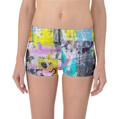 Graffiti Pop Reversible Boyleg Bikini Bottoms