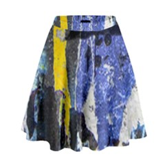 Urban Grunge High Waist Skirt