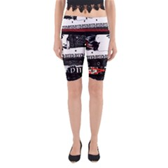 Punk Chick Yoga Cropped Leggings