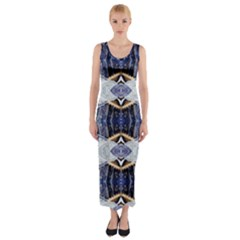 Alaska lit0511020011 Fitted Maxi Dress