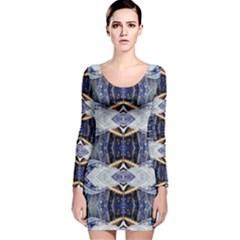 Alaska lit0511020011 Long Sleeve Velvet Bodycon Dress