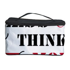 Less Thinking More Drinking Cosmetic Storage Case