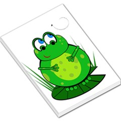 Green Frog Large Memo Pads