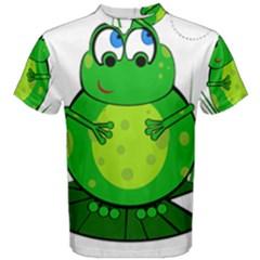 Green Frog Men s Cotton Tee