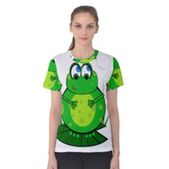 Green Frog Women s Cotton Tee