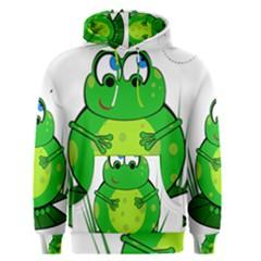Green Frog Men s Pullover Hoodie