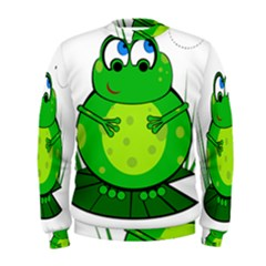 Green Frog Men s Sweatshirt